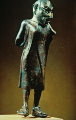 Statuette of Dossenus (click to see larger image)