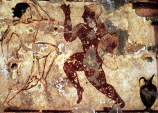 Etruscan Dancers (click to see larger image)