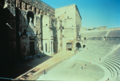 Orchestra of a Roman Theatre (click to see larger image)
