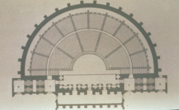 Diagram of a Roman Theatre (click to see larger image)