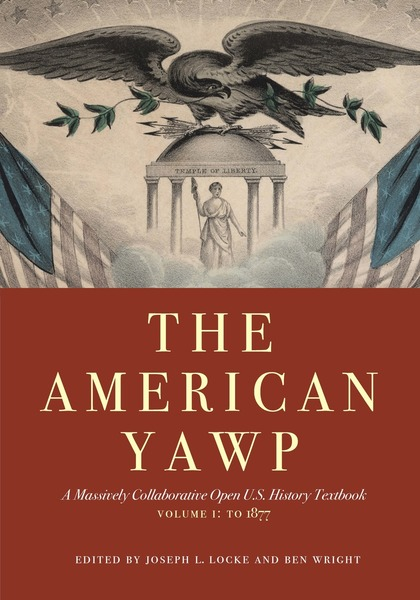"""The American Yawp"" book cover."