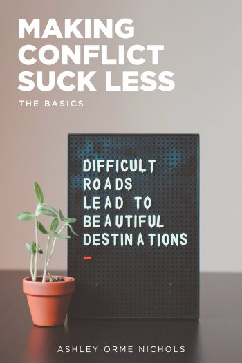 Cover image for Making Conflict Suck Less: The Basics