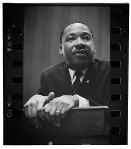 Photograph of Martin Luther King Jr.