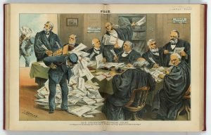 Supreme Court political cartoon
