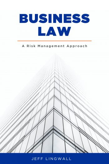 Cover image for Business Law: A Risk Management Approach