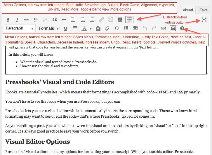 Visual Editor Screenshot