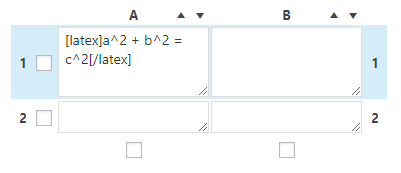 wrap your formula with the [latex] shortcode